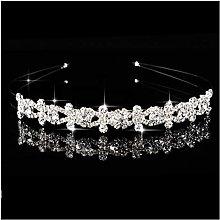 WQTR Tiara Tiara Bridal Retro Estilo Europeo