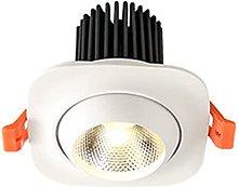 WUIO Foco De Techo LED, Downlight Empotrado