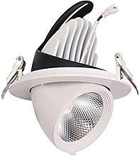 WUIO Foco De Techo LED, Luz Descendente COB