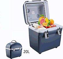 WWLONG Nevera-congelador de Coche de 20L para
