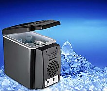 WWLONG Nevera-congelador portátil de 6 litros,