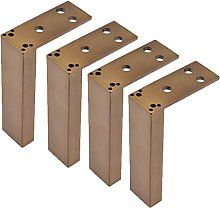 WYBW Pies de soporte para muebles, 4 pies para