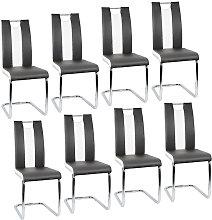 WYCTIN®8pcs Silla del comedor,sillas de