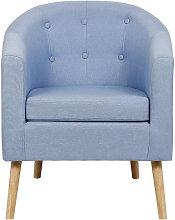 WYCTIN® Sofá silla, sillón, tejido de lino