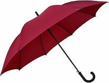 WYF Paraguas Plegable 8 Varillas Rectas de Color