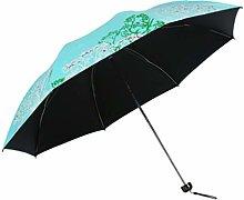 WYF Paraguas Plegable Paraguas de Viaje de Golf