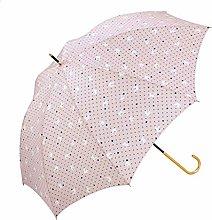 WYF Paraguas Plegable Paraguas Dorado Fresco y