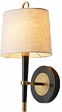 WYL Cobre Lámpara de pared de la sala de estar