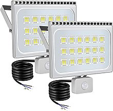 WZFANJIJ 100W 8000LM Foco LED con Sensor de