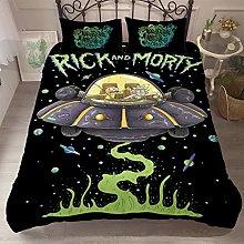 XFMF Rick and Morty Juego de ropa de cama de