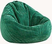 XGGYO Bean Bag Cover Silla Hi-Rest, Puff de Pera