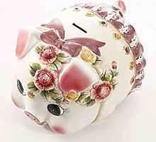 XHAEJ Bancos de Dinero en Relieve en Relieve Rosa