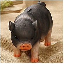 XHAEJ Money Banks Piggy Bank Simulación Resina