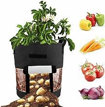 XHONG - Bolsas de Cultivo para Plantas, 2 Bolsas