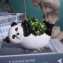 XHONG Maceta colgante de cerámica, maceta