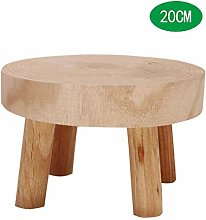 XHONG - Soporte de madera para plantas, soporte