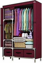 XIAOLI Armario portátil para ropa de armario,