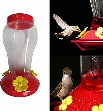 XiaoOu Alimentador de colibrí de plástico de