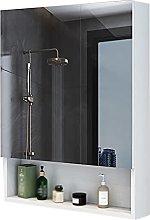 XIAOQIAO Baño Armario con Espejo de Pared,