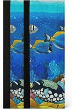 xigua Sealife Fish Coral - Juego de 2 fundas para