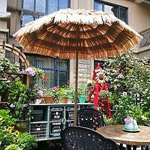 XINGG Sombrilla Parasol Redondo Hawaiana,