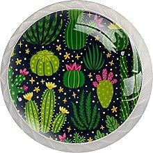 Xingruyun Pomos Tiradores Infantiles Cactus Pomos