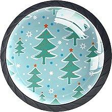 Xingruyun Pomos Y Tiradores Árbol De Navidad Pomo