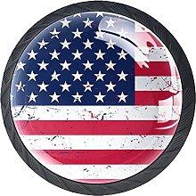 Xingruyun Pomos Y Tiradores Bandera Estadounidense