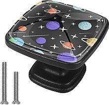 Xingruyun Pomos Y Tiradores Espacio Galaxia