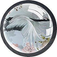 Xingruyun Pomos Y Tiradores Flor De Pájaro