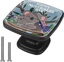 Xingruyun Pomos Y Tiradores Lindo Koala Pomo para