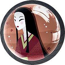 Xingruyun Pomos Y Tiradores Mujer Japonesa Pomo