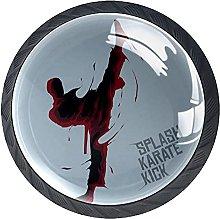 Xingruyun Pomos Y Tiradores Patada De Karate