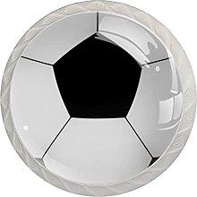 Xingruyun Tiradores para Muebles Fútbol Blanco
