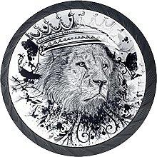 Xingruyun Tiradores para Muebles León Pomo para