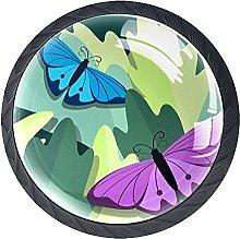 Xingruyun Tiradores para Muebles Mariposa Pomo