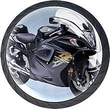 Xingruyun Tiradores para Muebles Motocicleta Pomo