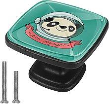Xingruyun Tiradores para Muebles Panda Espacial