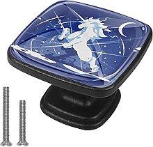 Xingruyun Tiradores para Muebles Unicornio Mágico