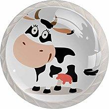 Xingruyun Tiradores para Muebles Vaca de Dibujos