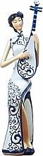 XinQing-Escultura Regalos del Cheongsam Chino