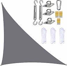 XJHKG Toldo Vela De Sombra Triangular, Protección