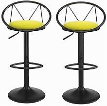 XKun cojín de cuero silla de desayuno silla bar