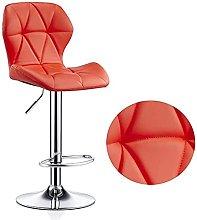 Xkun Silla de bar minimalista retro silla de