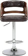 Xkun silla de bar simple madera sólida taburete