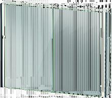 XViu XV7143 Armario con espejos, 1020x156 mm, 2