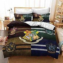 XWXBB Harry Potter - Juego de ropa de cama de