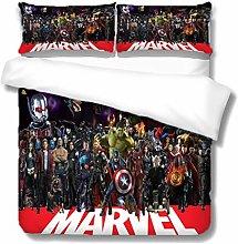 XWXBB Marvel's The Avengers Juego de ropa de