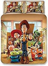 XWXBB Niciyo Toy Story - Juego de cama de 3 piezas