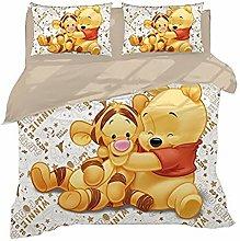 XWXBB Niciyo Winnie The Pooh - Juego de cama (3